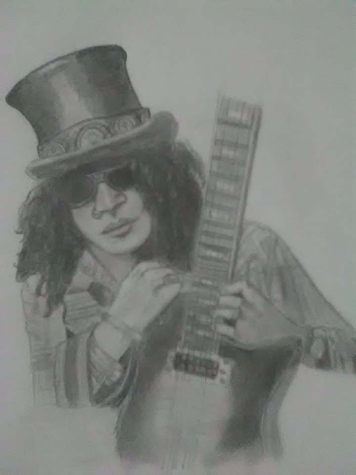 My drawing of Slash