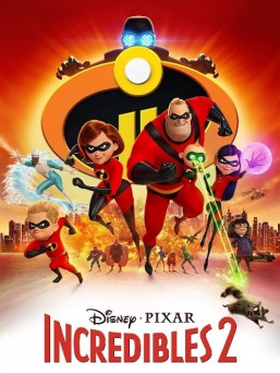 Incredibles 2 - cover